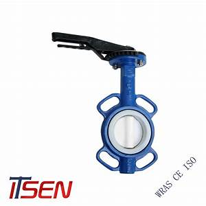 China Ptfe Lined Butterfly Valve Of Lug Type    Wafer Type