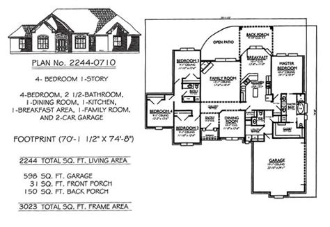 4 bedroom 2 house plans gallery for gt simple 4 bedroom home plans