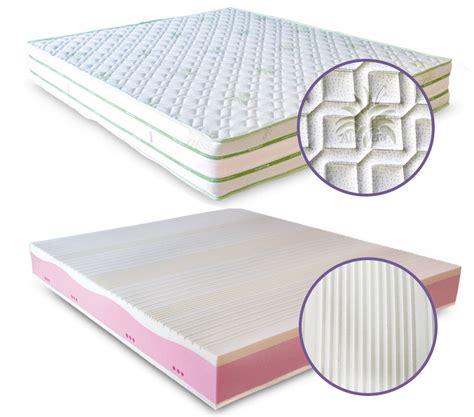 materasso in lattice o memory foam meglio il materasso in lattice o memory foam