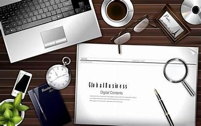 Office Desktop Backgrounds Desk Background Business Working