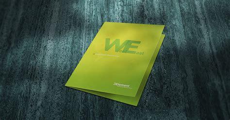 element international education group pocket folder design