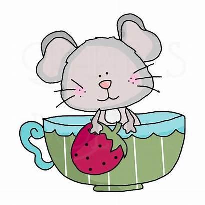 Teacup Clip Mice Tea Clipart Cups Clipartmag