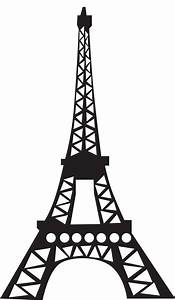 Eiffel Tower Template Drawing - ClipArt Best