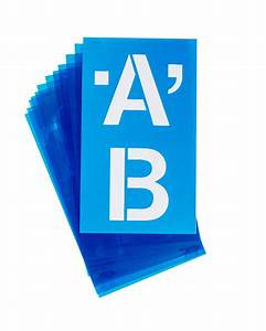 Capital letter stencil classroom direct for Large letter die cuts