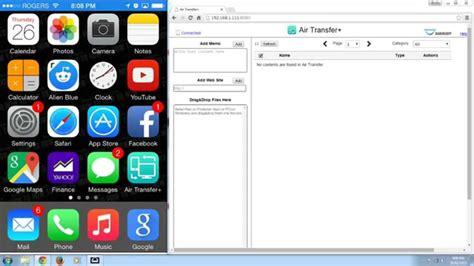 transfer files  pc  iphone ipad ipod