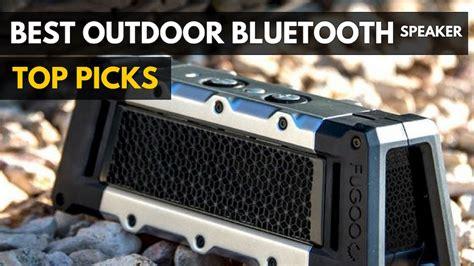 bluetooth outdoor speakers speaker wireless gadgetreview