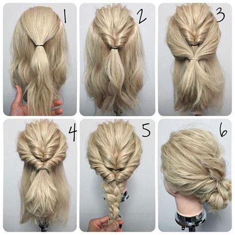 easy step  step updo tutorials  beginners hair