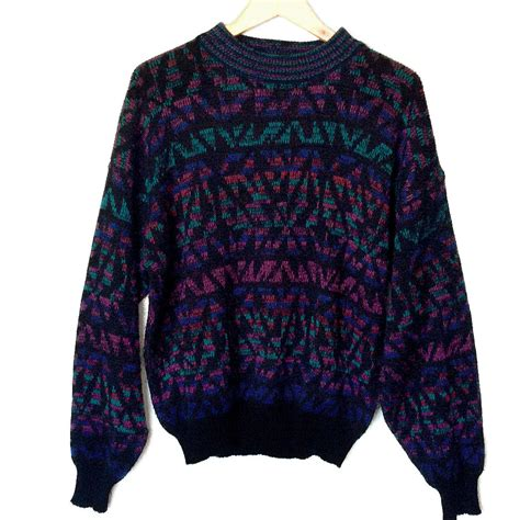 what is a cosby sweater vintage 80s tones huxtable cosby sweater