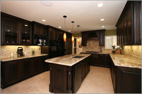 dark cherry wood cabinets home furniture design