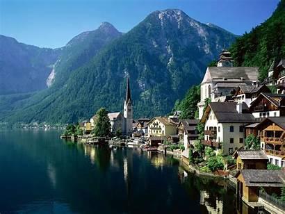 Europe Landscape Wallpapers Wallpaperaccess Alp Austria Lake