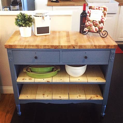 make a kitchen island from a dresser repurposed antique dresser as a kitchen island with a 9894