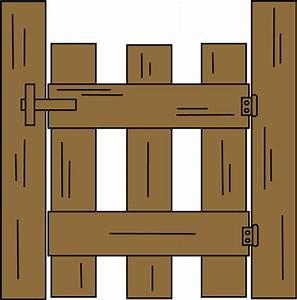 Gate Clip Art - Gate Image