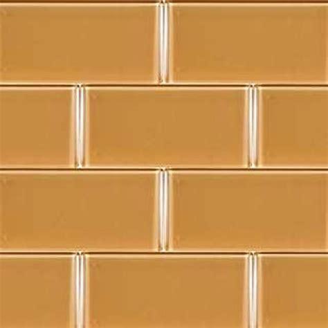 buy 3x6x8mm caramel glass subway tile wallandtile