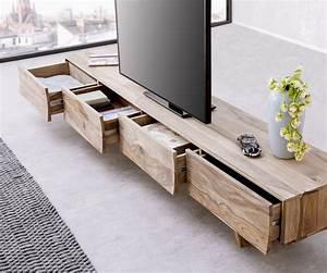 Lowboard Design Möbel : designer lowboard wyatt 220 cm sheesham natur 4 sch be m bel tische fernsehtische ~ Sanjose-hotels-ca.com Haus und Dekorationen
