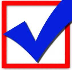 Vote Check Mark Clip Art