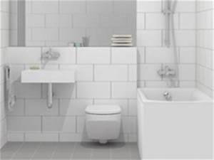 Badezimmer Grauer Boden Weiße Wand : bad rauml sungen platte kreativ jeder qm du ~ Bigdaddyawards.com Haus und Dekorationen