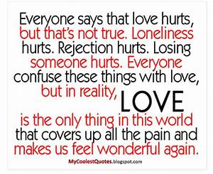 Love Hurts Quotes For Her. QuotesGram