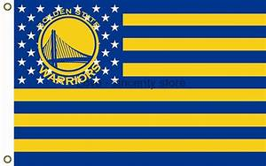 Golden State Warriors Nation Flag 3ft x 5ft NBA -in Flags