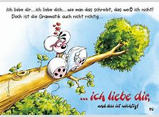 LiebesGrammatik Comic & Cartoons Echte Postkarten