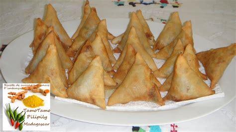 recette de cuisine malagasy cuisine artisanale d 39 ambanja madagascar sambossa à la