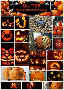 The, Mega, List, Over, 700, Pumpkin, Carving, Stencils, 2021