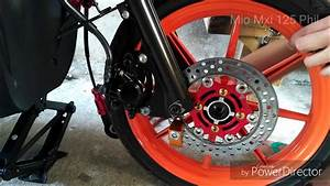 Mio Mxi 125 Tutorials   Front Brake
