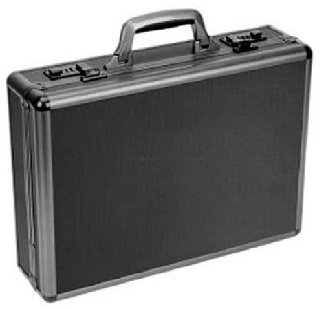 """bugatti ATC0103 Itala Aluminum Attache Case, 13"""" x 5"""" x 18"""