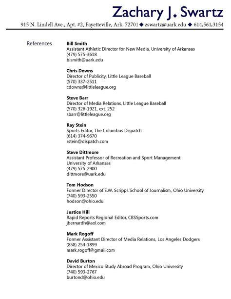 reference list resume template sidemcicek