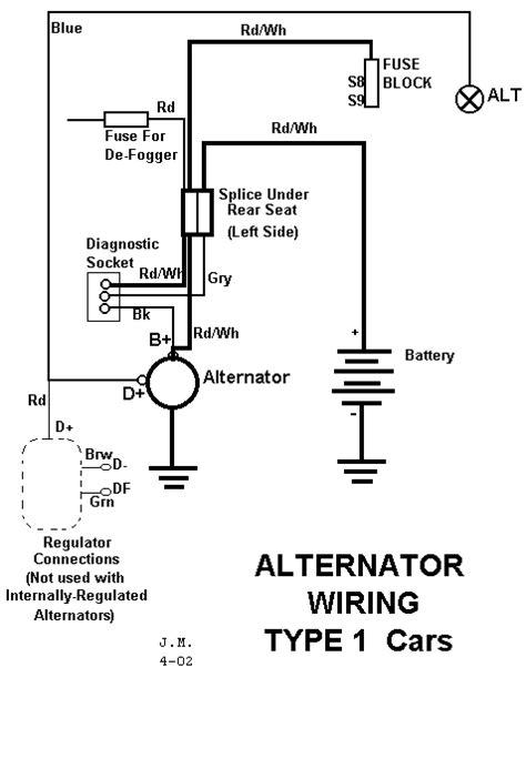 alternator wiring