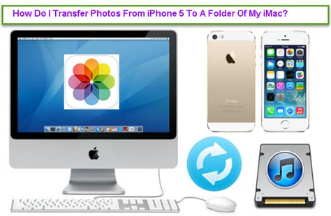how to transfer photos from iphone to imac how to transfer photos from iphone 5 to a folder of my imac