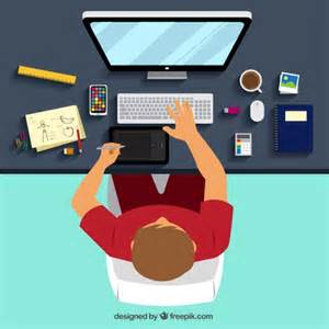 graphic design graphic designer workplace vector free