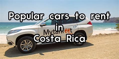 Popular Types Of Cars To Rent In Costa Rica