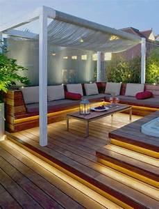 amenager une terrasse plus de 50 idee pour vous With amenagement d une terrasse exterieure