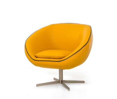 modern yellow eco leather lounge chair vg76 accent seating
