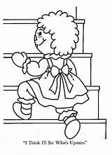 Coloring Ann Clipart Raggedy Arrow Stress Library Salvo Clip sketch template