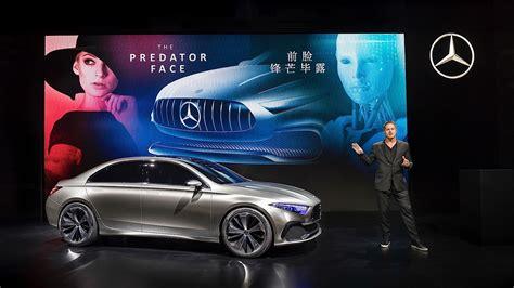 Mercedes Benz Concept A Sedan Previews Future Production