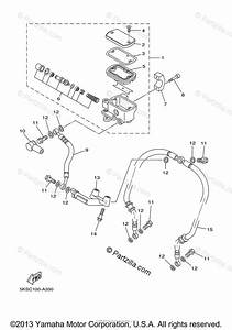 Yamaha Motorcycle 2004 Oem Parts Diagram For Front Master