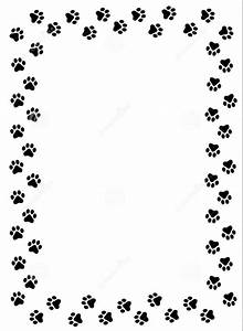 Cat paw clipart hd dog paw border clipart cats wallpaper ...