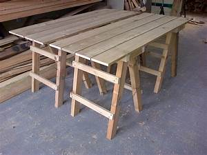 Collapsible Trestle Tables The Wooden Workshop Oakford