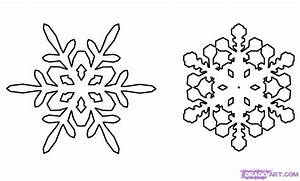 How to Draw Snowflakes, Step by Step, Christmas Stuff ...
