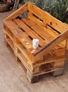 Gartenbank Aus Paletten : outdoor pallet sofa gartenb nke palettenm bel und palletten ~ Michelbontemps.com Haus und Dekorationen