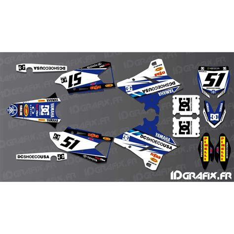 kit deco yz 2001 kit decoration dc edition yamaha yz yzf 125 250 450 idgrafix