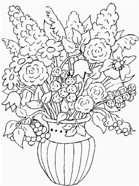 coloring pages for adults nature 1000 images about flower coloring on flower