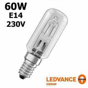 Ampoule Led E14 60w : ampoule halog ne 60w e14 radium 230v double enveloppe radium 112638 ~ Melissatoandfro.com Idées de Décoration