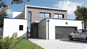constructeur maison moderne nantes schuman loire With superb exemple plan de maison 7 architecture nantes loire atlantique maison individuelle