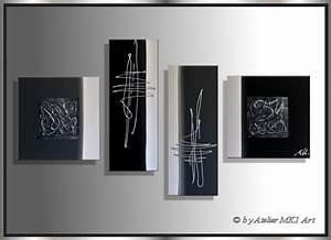 Leinwandbilder Selbst Gemalt : mk1 art bild leinwand abstrakt gem lde kunst malerei acryl bilder schwarz xxl ebay ~ Orissabook.com Haus und Dekorationen