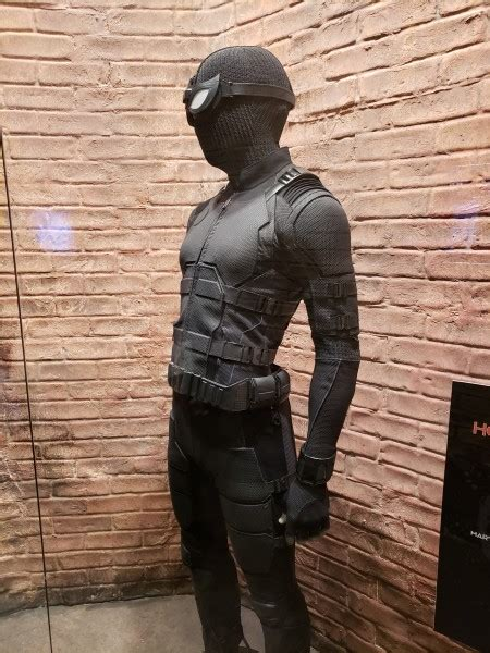 check   spider man   home stealth suit ybmw