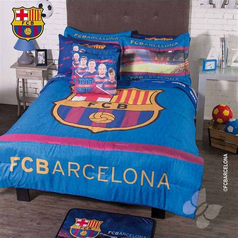 Ebay Bedding Sets by New Fcb Club Barcelona Soccer Comforter Bedding Sheet Set