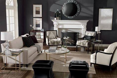 decoracion de salas blanco  negro  decoracion de