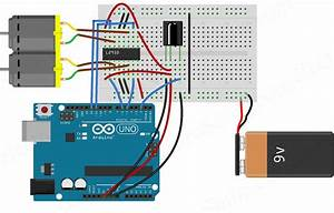Controlling Dc Motors Using Arduino And Ir Remote